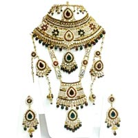 Bollywood Bridal Handmade Gold Platted Jewelry