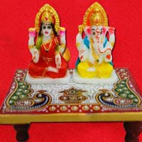 Divya Laxmi Ganesh On Chowki