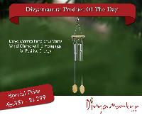 Divya Mantra Feng Shui Vastu Wind Chime With 2 Hangings For Positive