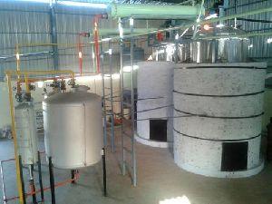 Lubricant Oil Distillation Plant