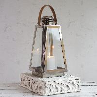 Wooden & Metal Candle Lantern