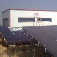 Solar Power Control Room