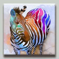 Zebra Oil Canvas Paintings