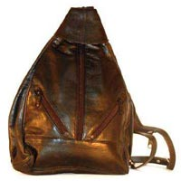 Leather Backpack - 002