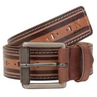 Men's Casual Brown Genuine Leather Belt
