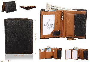 Real Leather Notecase Wallet For Men 201_blk