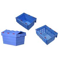 Attached Lid Crates