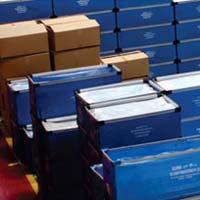 Plastic Corrugated Foldable Boxes