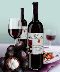 Red Mangosteen Fruit Wine, Thai Wine
