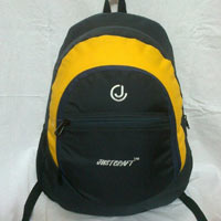 Grey Yellow College Bags