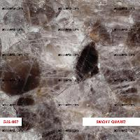 Smoky Quartz Semi-Precious Gemstone Slabs