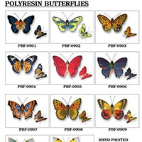 Polyresin Butterfly