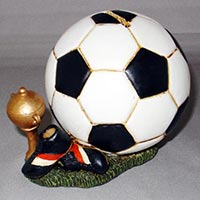Polyresin Football Money Box