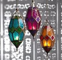 Colored Hanging Lamp