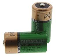 Duracell NiMH Rechargeable C Batteries