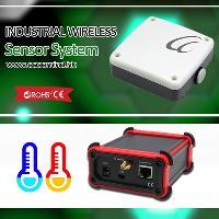 Industrial Wireless Sensor System Temperature Controller Data Logger