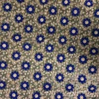 Embroidered Sequin Cotton Fabric