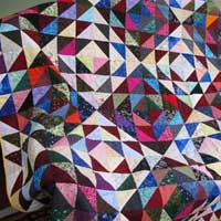 Patchwork Embroidered Quilts