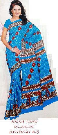 Printed Soft Cotton Saree