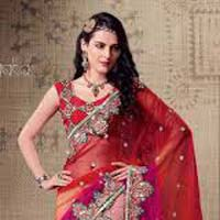 Designer Part Wear Sarees