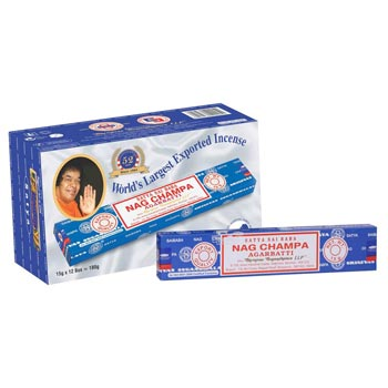 15gm Satya Sai Baba Nag Champa Incense Sticks