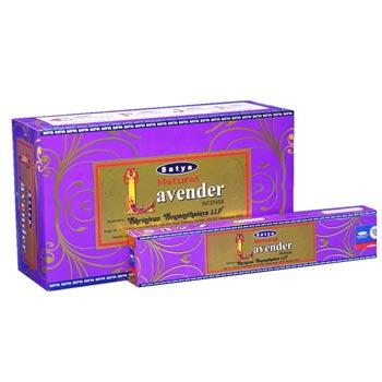Satya Natural Lavender Incense Sticks