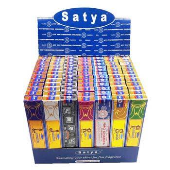 Satya Natural Series Incense Stick Display Box