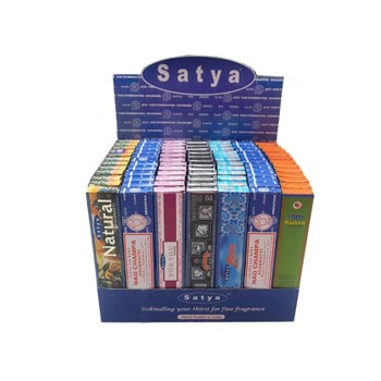 Satya Popular Series Incense Stick Display Box