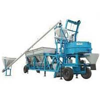 Mobile Mixer Batching Plant