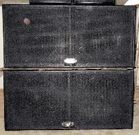 Dual 18 Inch Subwoofer