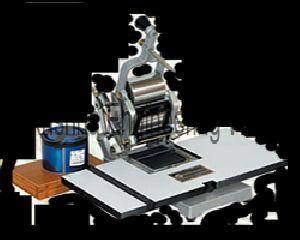 Hand Operated Batch Printing Machine