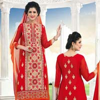 Ladies Georgette Churidar Suits