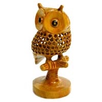 Wooden Tani Owl