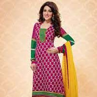 Ladies Cotton Churidar Suit