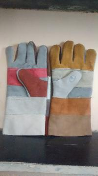 Industrial Leather Gloves And Industrial Leather Jacket