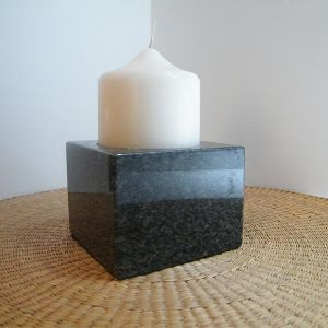 Stone Candle Stand