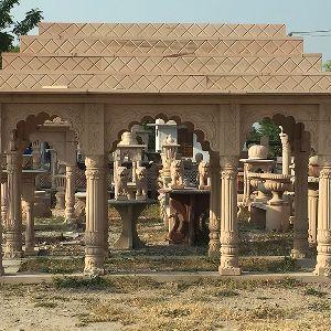 Sandstone Garden Gazebo