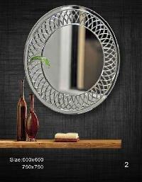 24x24 Vigroving Glass Mirror