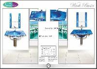 Glass Platform Wash Basin