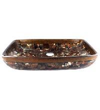 New Antique Resin Bowl