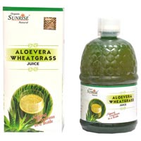 Organic Aloevera Wheatgrass Juice