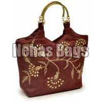 Babys Breath silk hand bag ( NHSM - 002)