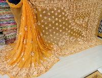 Embroidered Chiffon Sarees