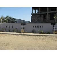 designer compound wall