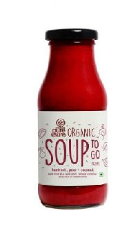 Organic Soup - Beetroot + Pear