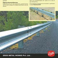 Galvanised Road Highway Safety Guard