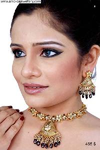 Kundan Necklace Set-3421