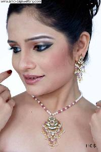 Kundan Necklace Set-3423