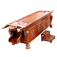 Decorative Cabinet Dharapathi Massage Table (model-5)
