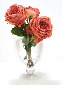 16243# - Waterlook Mauve Roses Artificial Flower